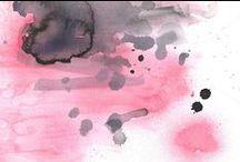 Wow Watercolor / watercolor, watercolor pictures, photos, spring, water, watercolor, art, design, graphic design, ideas, idea, watercolour, watercolours / by Marie Wagner