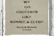 Bonnie and Clyde Wedding