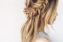 Hairstyles ١ long hair / Hairstyles that could look awesome with my long hair, if I only could get my hair to work with me.