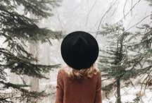 Winter / winter, fashion, design, cold, oversized, ideas, etc.