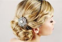 Glamour wedding hairstyle
