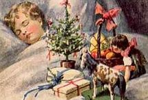 Victorian Christmas Cards and Christmas Scenes / Images of how Victorians spent Christmas and old cards created to celebrate this important holiday event. Board created by the crime fiction author Kathryn McMaster.