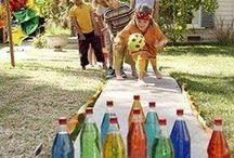Hry na ven pro děti