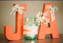 Turquoise coral wedding