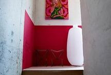 Half Height Painted Wall