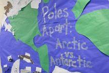 Arctic and Antarctic Adventure Classroom Transformation