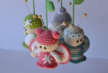 Knitting and crochetting  / Knitwear for little girls and crochetting for creative projects