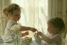 tea parties / there is nothing quite like tea and cake to make you smile - especially if its with your favorite dolly!