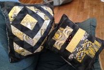 pillows / by Kathie Lewis
