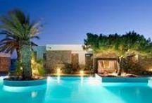 Pools, Spas, Shower / Greece,Mykonos trip ideas. Showers, pools spas ideas for home