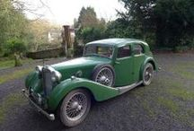 classic british cars 1930 to 1940 / British cars built between 1930 and 1940 / by David Cobb