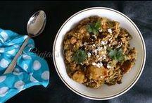 Indian curry subji