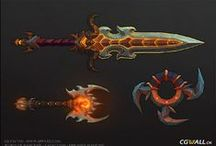 Concept - Itens / Weapons and Items Design