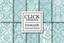Damask Collection / Damask digital Papers