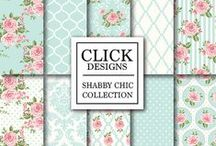 SHABBY CHIC / Shabby chic digital papers