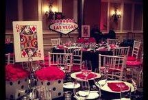CASINO party ideas / casino decor