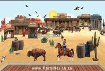 WESTERN, COWBOYS party ideas / Cowboys cowgals