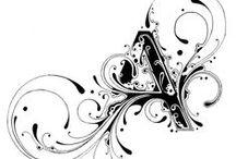 Scrittura, cornici e schemi / Caratteri grafici