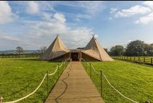 Tipi Tents / Why not have something original and fun for your wedding!