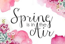 Spring / Flowers, perfume and magic