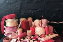 Pretty Pinks / Tablecloths in the various shades of pink