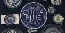 China Blue Hiring / Blue Crockery