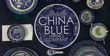 China Blue Hiring / Blue Crockery