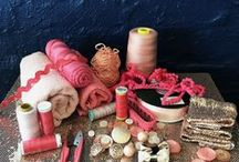 Coral and  Blush / All of our beautiful Coral and  Blush tablecloths, serviettes and things