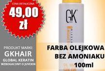 Bez amoniaku Farby olejkowe / GK hair Juvexin Farby do włosów bez amoniaku Global Keratin