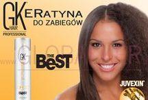 Keratynowe prostowanie włosów / Keratyna do zabiegów keratynowego prostowania włosów GH hair Juvexin Global Keratin