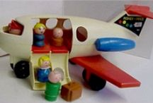 Vintage Toys / by EmbarrTreasures