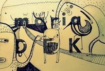 sketchbook by Maria Dek
