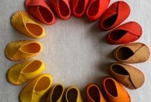 Fabulous felt shoes / Deliciously simple felt shoes