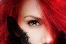 ♡ RED / Redhead, Pelirroja. RED