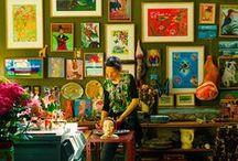 Inspiring Studio Spaces / Inspirational artist studio spaces