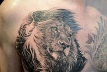 Men's Chest Tattoos / In this board i am collecting chest tattoos designs for men, i can invite any desired person who loves tattoos art and can add interesting theme to this board