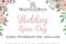Weddings / Weddings at Hempstead House Hotel & Spa http://www.hempsteadhouse.co.uk/weddings.php