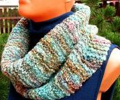 Knitting with handspun yarn