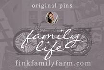 Fink Family Farm | Family Life / Welcome to the Fink Family Farm Family Life board!  Here, I pin only original projects, ideas, and work from my website, finkfamilyfarm.com.    I work as a stay-at-home momma, helping to provide for my family's domestic needs. I love finding new ways to feed my family, improve organization, educate children, build traditions, and more!  Hope you enjoy!  Don't forget to check out my other boards about diy projects, design, decorating, organization, homesteading, and more!