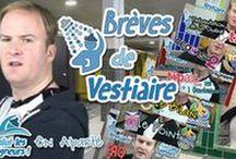 Brèves de Vestiaire / Episodes en apparté de Salut les Baigneurs où Antoine, le surveillant de Baignade raconte et annonce tout ce qui entourre Salut les Baigneurs.