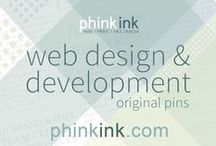 Phink Ink | Web Design / My husband and I run our own web, print & multimedia business, Phink Ink.  View samples of our work here, and visit our website, http://www.phinkink.com, for more information.  Contact us today!  We hope to work with you soon!