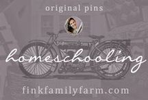 Fink Family Farm | Homeschooling / Welcome to the Fink Family Farm Homeschooling board!  Here, I pin only original projects from my website, finkfamilyfarm.com.  As teachers, my husband and I are excited about the opportunity to home educate our children, and are excited about the opportunities that life on a farm affords our children.  I will share my experiences and ideas here. Hope you enjoy!  Don't forget to check out my other boards about diy projects, design, decorating, organization, homesteading and more!