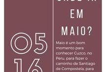 [ONDE IR EM] Maio / Dicas de onde ir no mês de maio, baseadas em pesquisa pelo Brasil e no livro das Lonely Planet (365 dias e onde estar em cada um deles). ;) www.aosviajantes.com.br/onde-ir-em-maio-serie-30-lugares-em-30-dias/