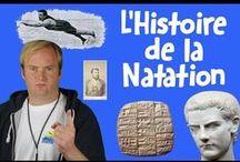 La Natation dans l'Histoire