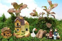 Teraryum ve Mini Bahçeler İçin Maketler