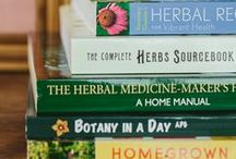 Read / Books we love on herbalism, plants and living well. www.wishgardenherbs.com
