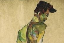 Egon Schiele / (Tulln, 12 june 1890 — Vienna, 31 oktober 1918)