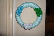 Wreaths / Wreaths that I made.