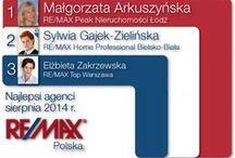 RANKINGI / Tam gdzie pojawia się RE/MAX Peak Nieruchomości oraz jego Agencji