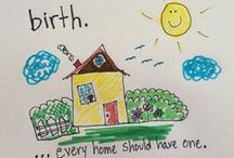 Home birth / Home birth is on the rise in the United States. Dozens of studies show that home birth is as safe or safer than hospital birth. Articles related to why more Americans are choosing to give birth at home.